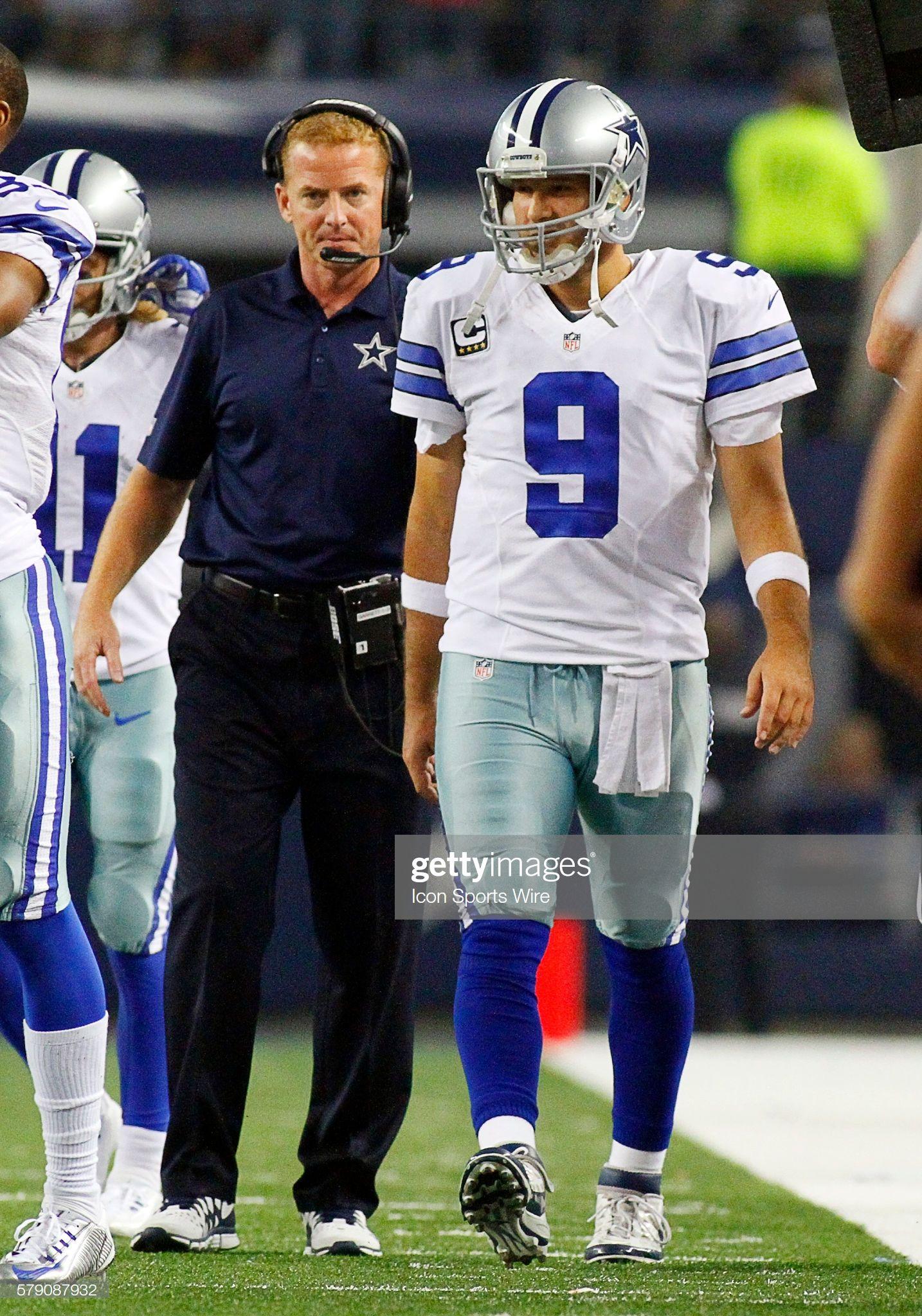 Dallas Cowboys head coach Jason Garrett and Dallas Cowboys