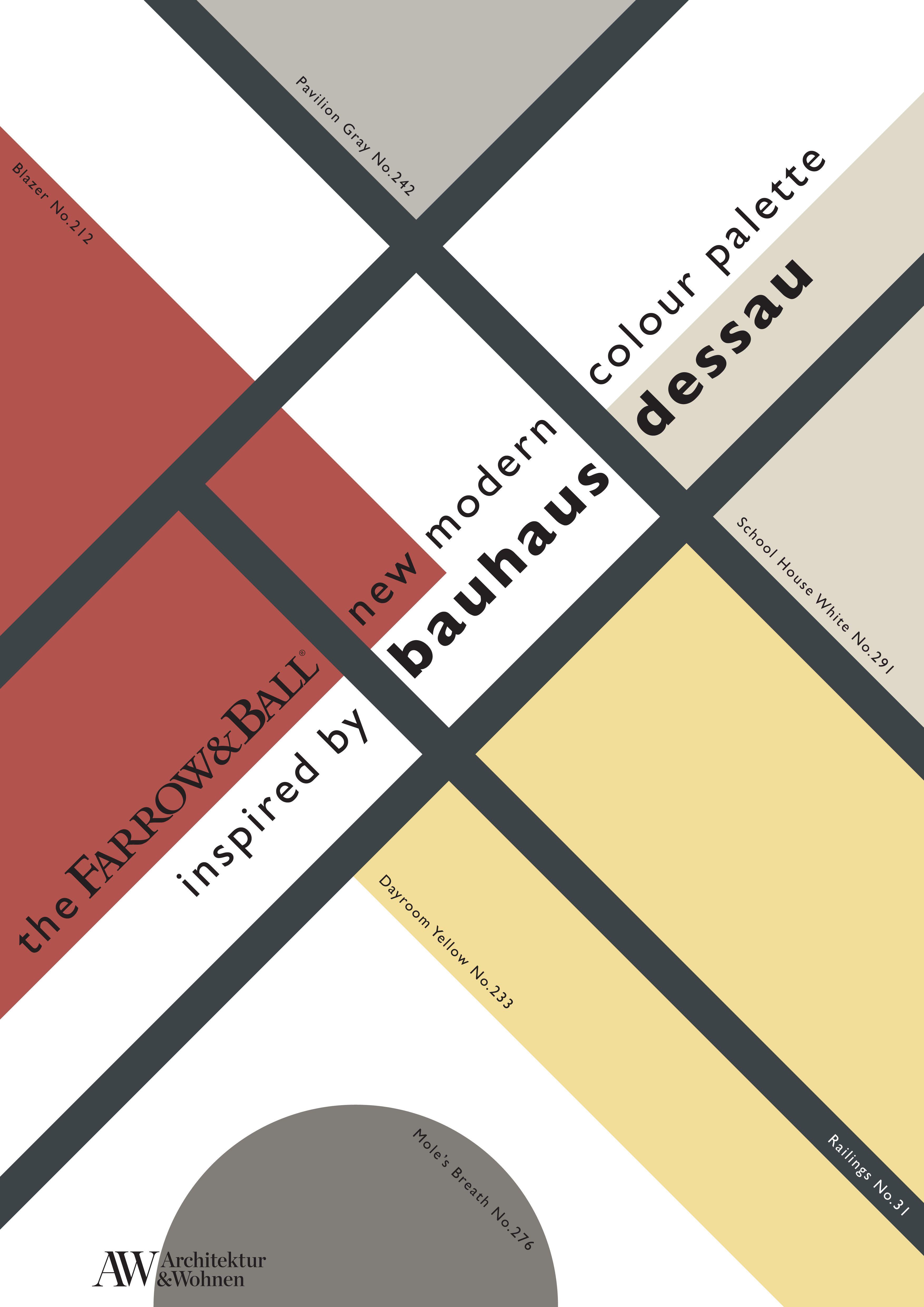 New Modern Colour Palette Modern Color Palette Bauhaus Colors