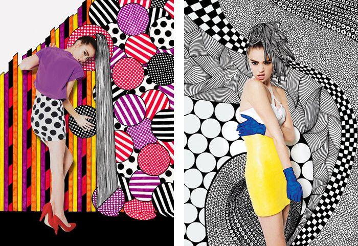 Nikki Farquharson   Penned Pattern inspiration