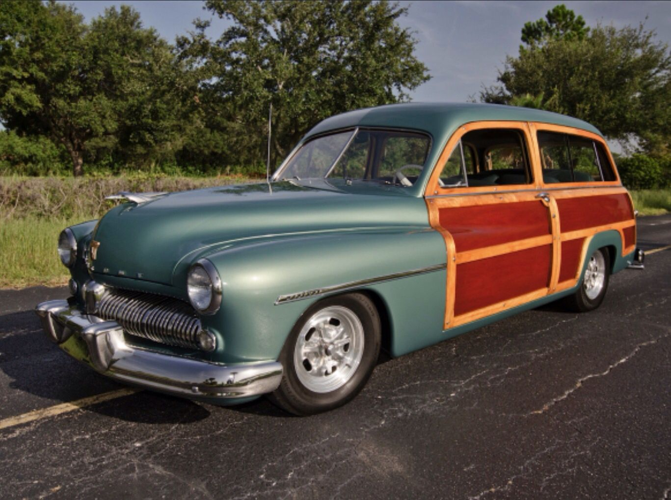 mercury wood station wagon car 1949 cars from mercury. Black Bedroom Furniture Sets. Home Design Ideas