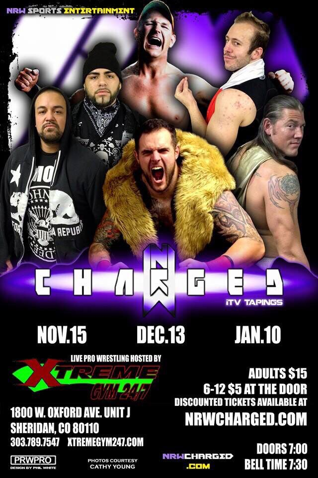 Sat Nov 5 I return to @nrwcharged in Sheridan Co. Who is going to go see me do what I do best? #RulesAreRules.