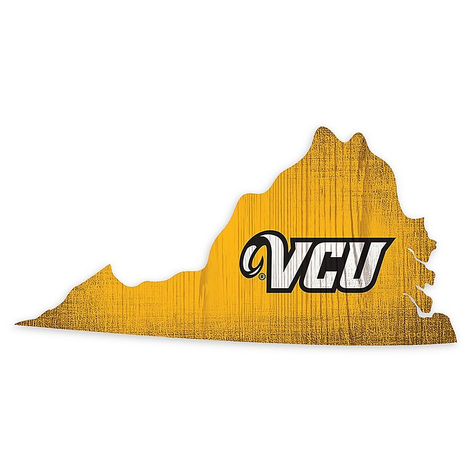 Virginia Commonwealth University Team Color Logo State Sign Multi Team Colors State Signs Virginia Commonwealth University