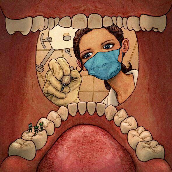 Картинка по зубами