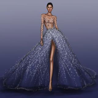 Zuhair Murad Fall 2015 Couture | Shamekh Bluwi