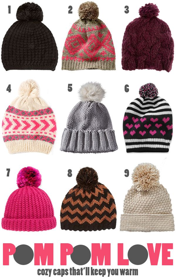 d57fe8619 Cozy Caps That'll Keep You Warm {For Chic Sake} | Accessories ...
