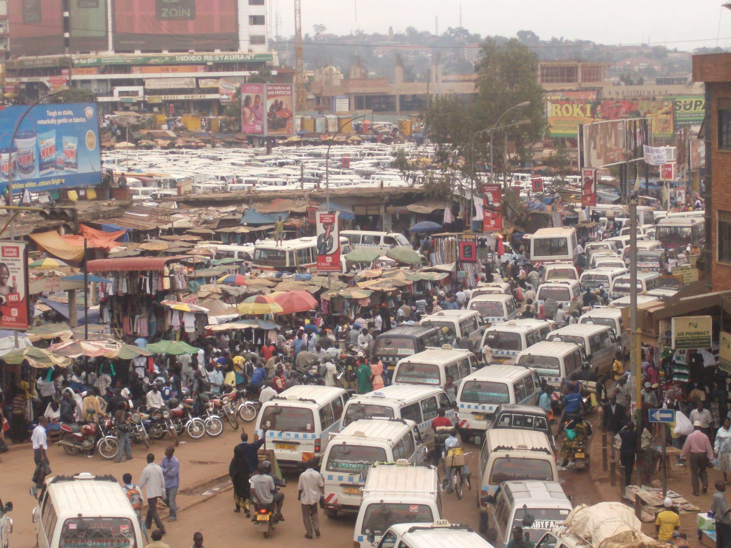Kampala Uganda Taxi Park  Markets
