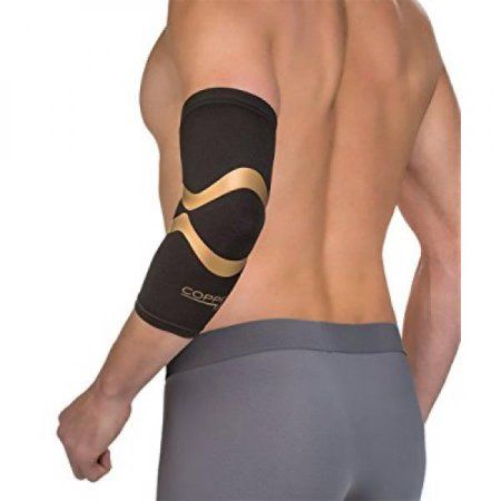 Copper Fit Pro Series Elbow Sleeve, Black