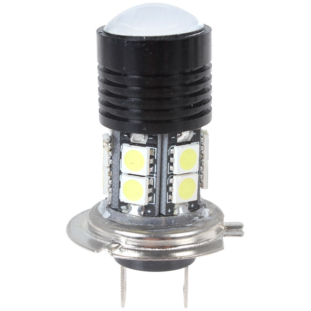 12v 12w 750lm H7 High Power Q5 Led Projector Lens White Light Vehicle Foglamp With 12 X 5050 Smd Car Lights Led Projector Led Lights