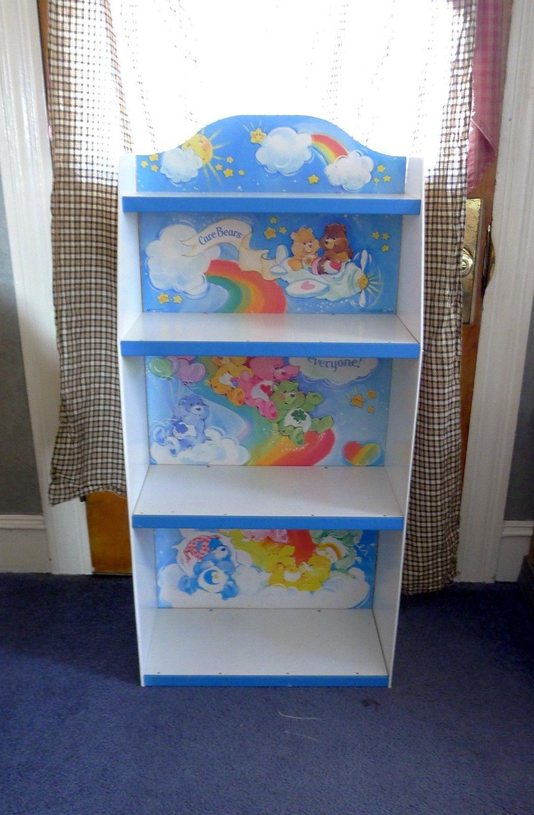 Vintage 1984 Carebear Bookcase Book Shelf