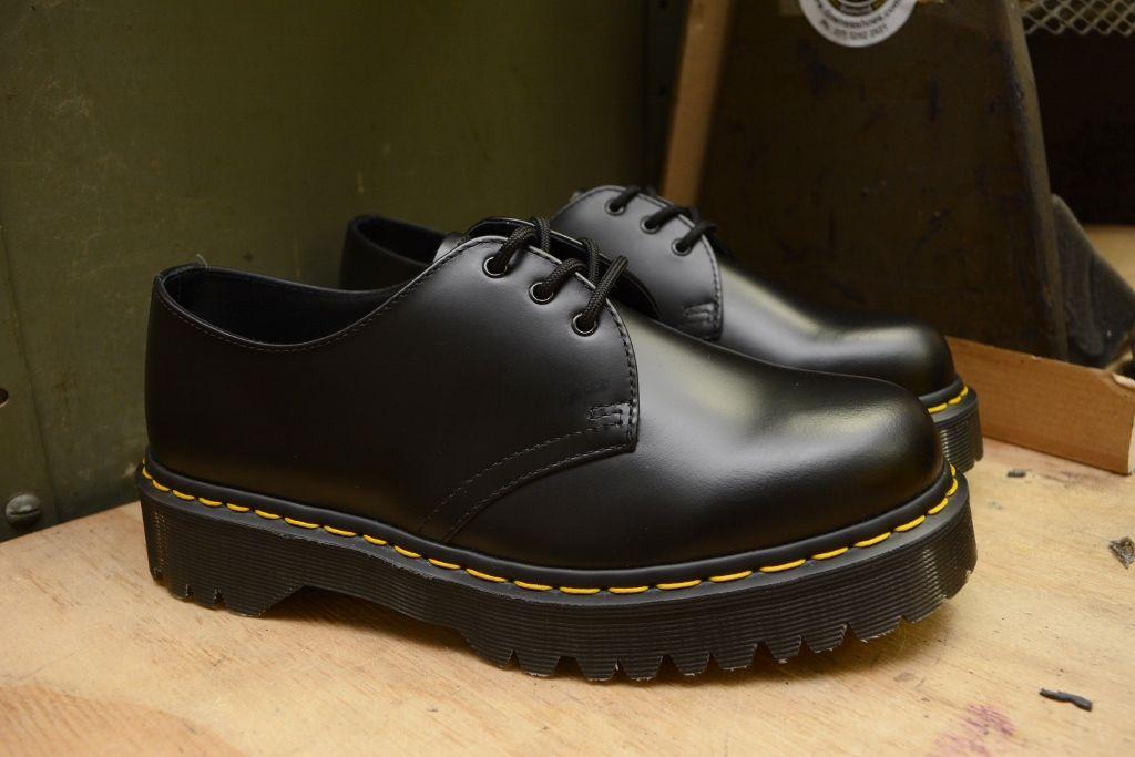 1461 Bex 3 Eyelet Platform Shoe