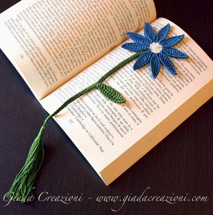 Crochet bookmark gift idea