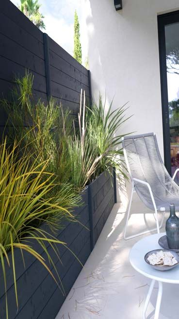 quelles plantes pour se prot ger du vis vis sur un balcon m6 espaces ext rieurs vis et. Black Bedroom Furniture Sets. Home Design Ideas