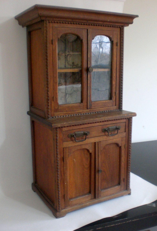 1800s Salesman Sample Pie Safe Case, 3 FEET TALL, Child's Size Antique Wood  Cabinet - 1800s Salesman Sample Pie Safe Case, 3 FEET TALL, Child's Size