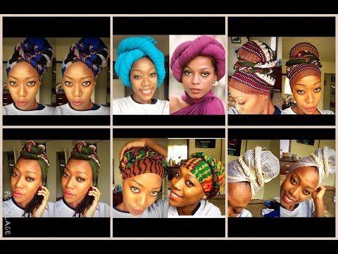 8 Easy Head Wraps Head Wrap Styles Head Wraps Hair Wraps