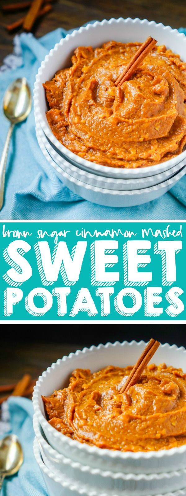 Photo of East Mashed Sweet Potatoes with Brown Sugar and Cinnamon – #brown #East #Mashed …