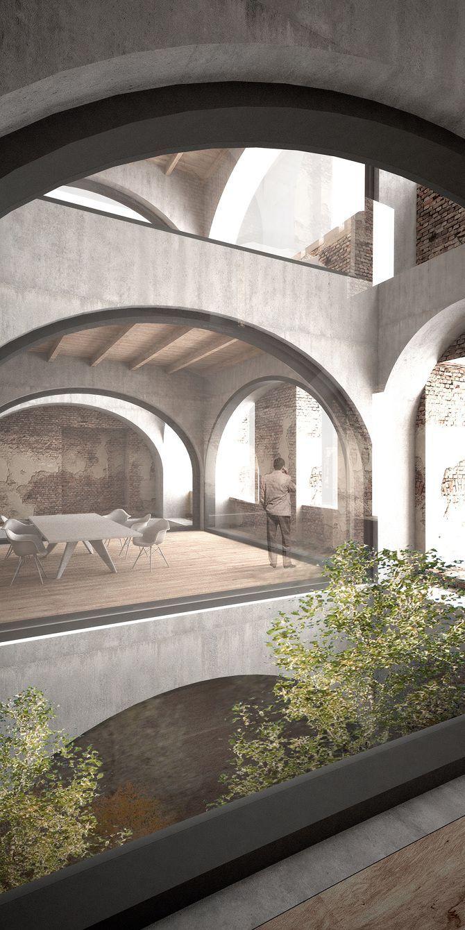 RUINS - STUDIO LOES #arquitectonico