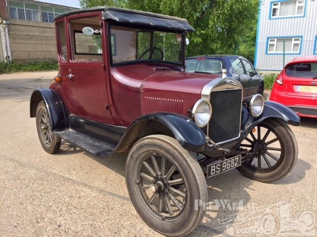 1921 Ford Model T Doctors Coupe Ford Models Model T Old Fords