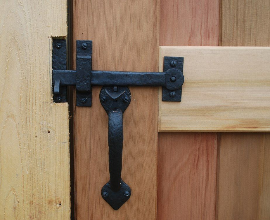 Dark Bronze Two Sided Thumb Latch Build Your Own Package