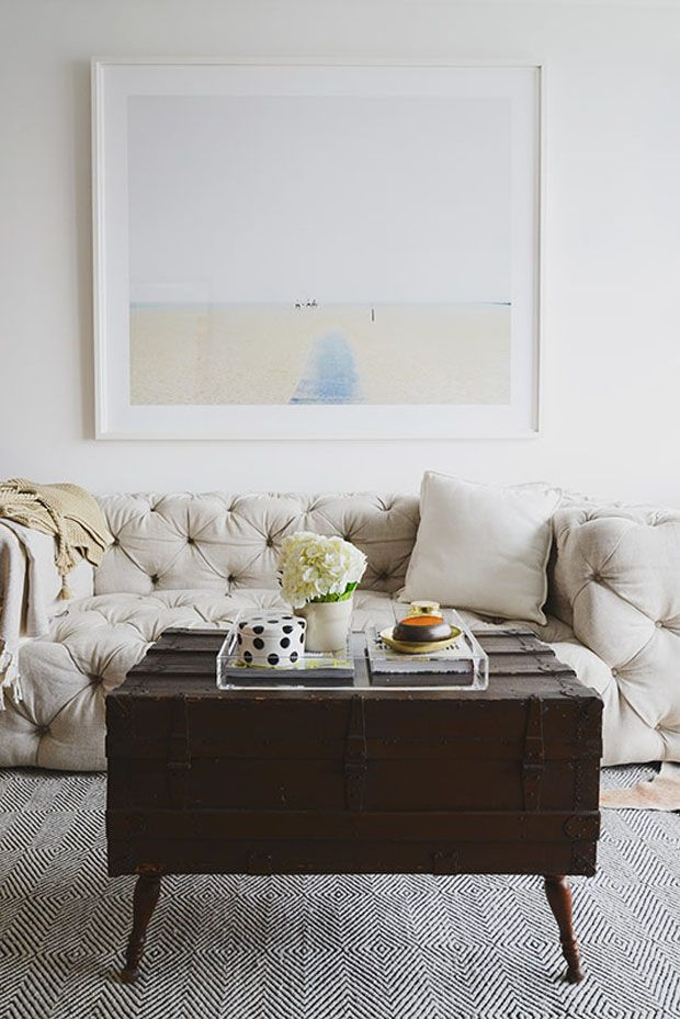 Luxuriate in the Living Room. Casey DeBois Interior Design
