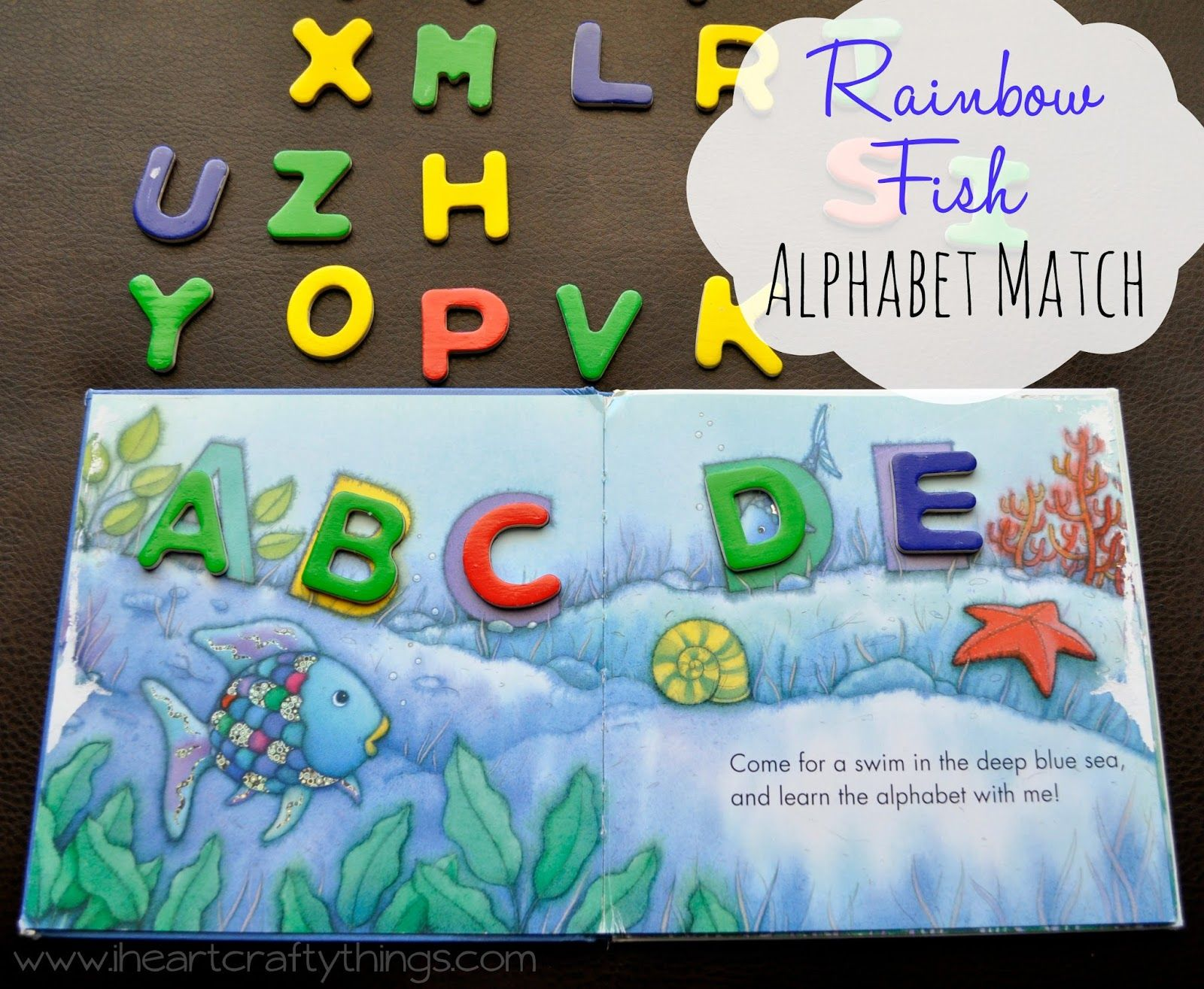 Rainbow Fish Alphabet Match