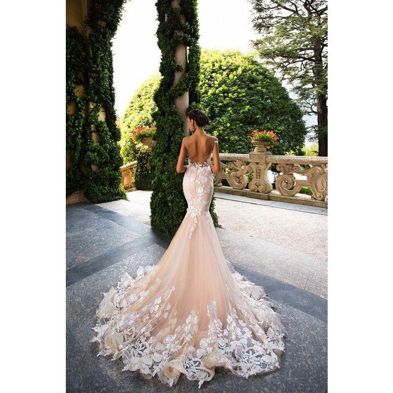 Brautkleid 2017 Orsolya   Meerjungfrau hochzeitskleid ...