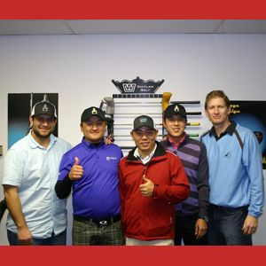 Had some KPGA pros in the shop today.  Jan 8, 13.
