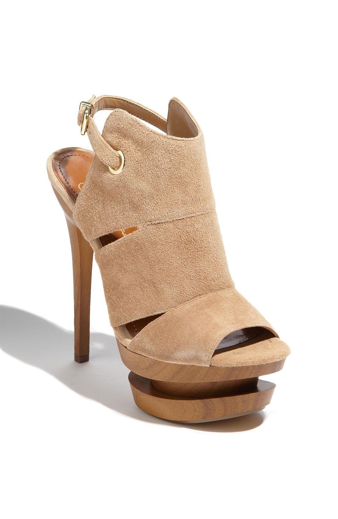 42c12310628e Jessica Simpson Cat Sandal in Beige (camel)