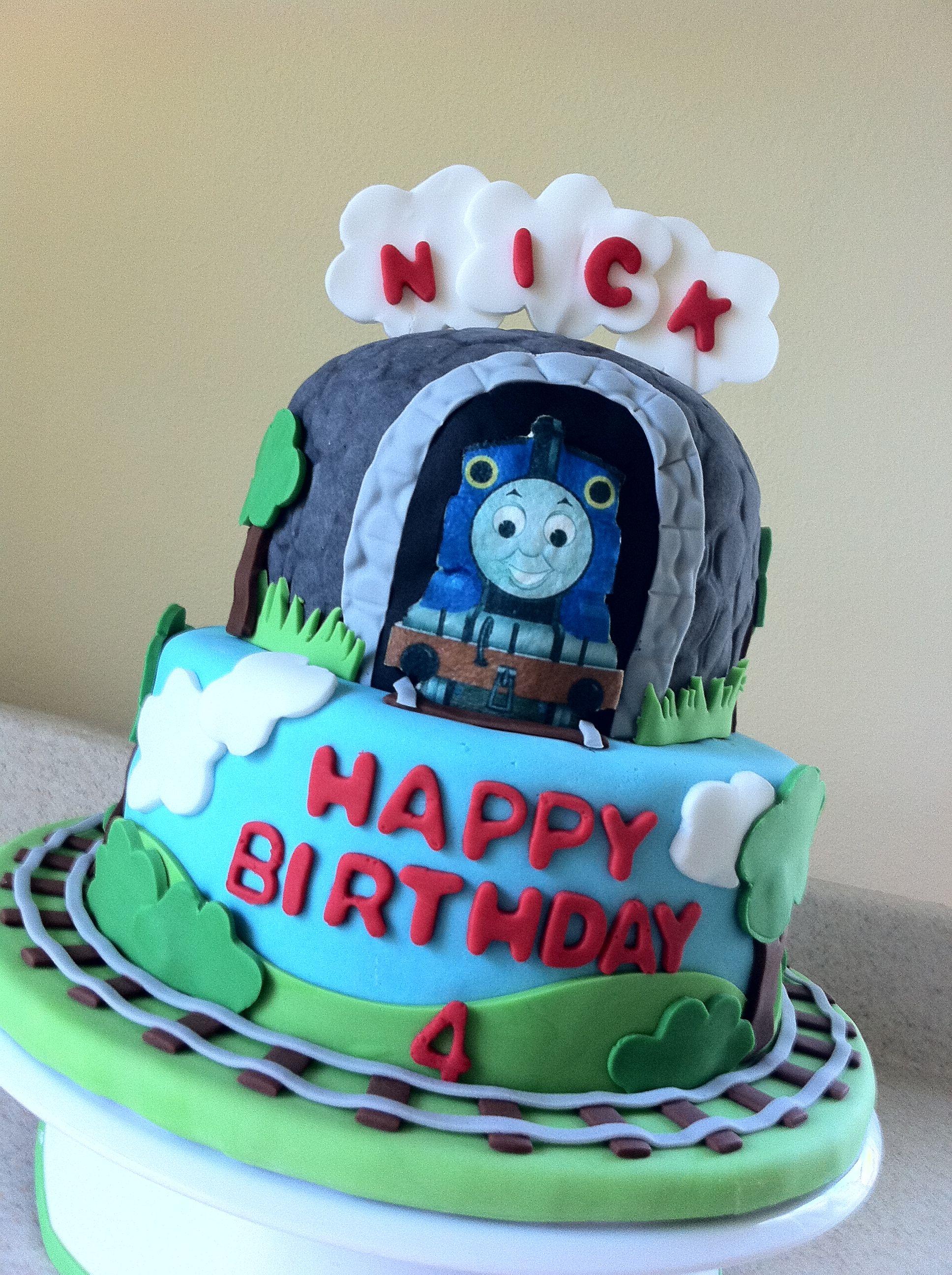 Thomas The Train Birthday Cake Cake Recipe