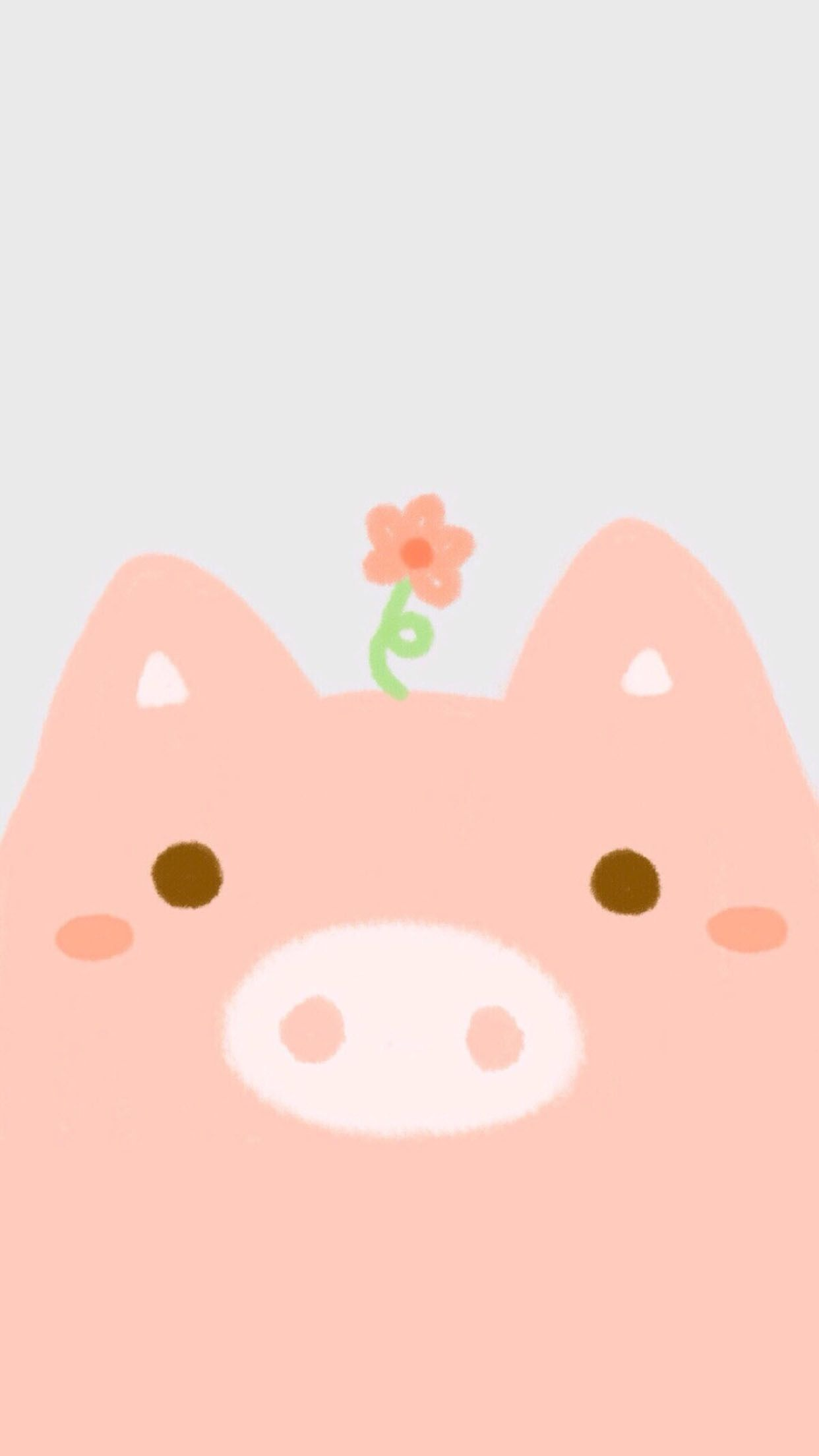 Cool kawaii cute pig wallpaper hd images