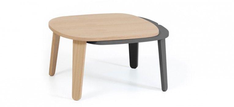 Table basse Colette, gris ardoise design interieur Pinterest