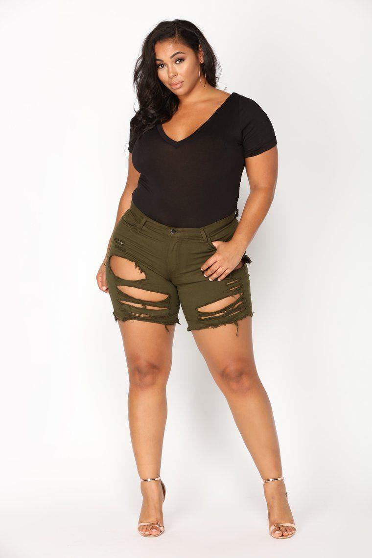 bb1419817 Favorite Tee Bodysuit - Black in 2019 | Curvy girl fashion | Fishing ...