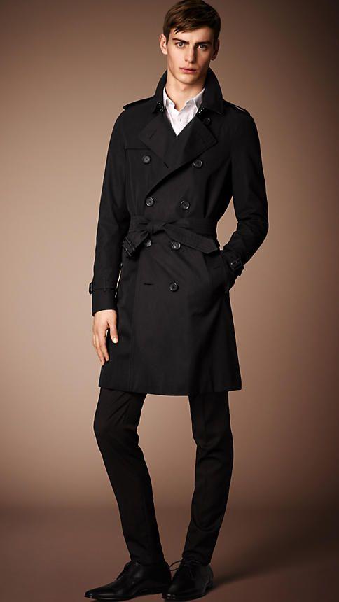 The Sandringham - Long Heritage Trench Coat   Burberry trench coat men, Jackets  men fashion, Mens coats
