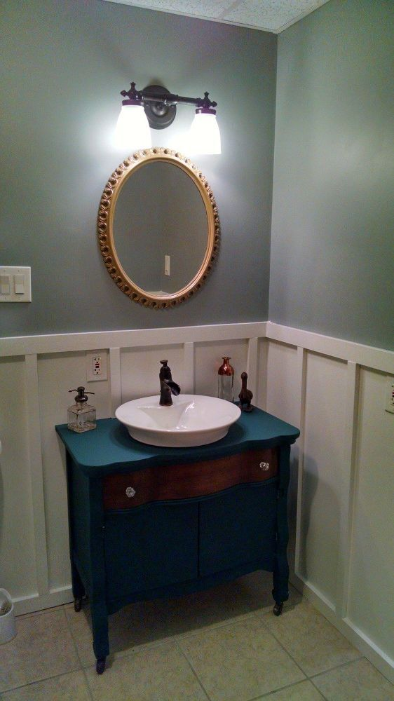 Repurposed Dresser Small Dresser Bowl Sink And Nautical