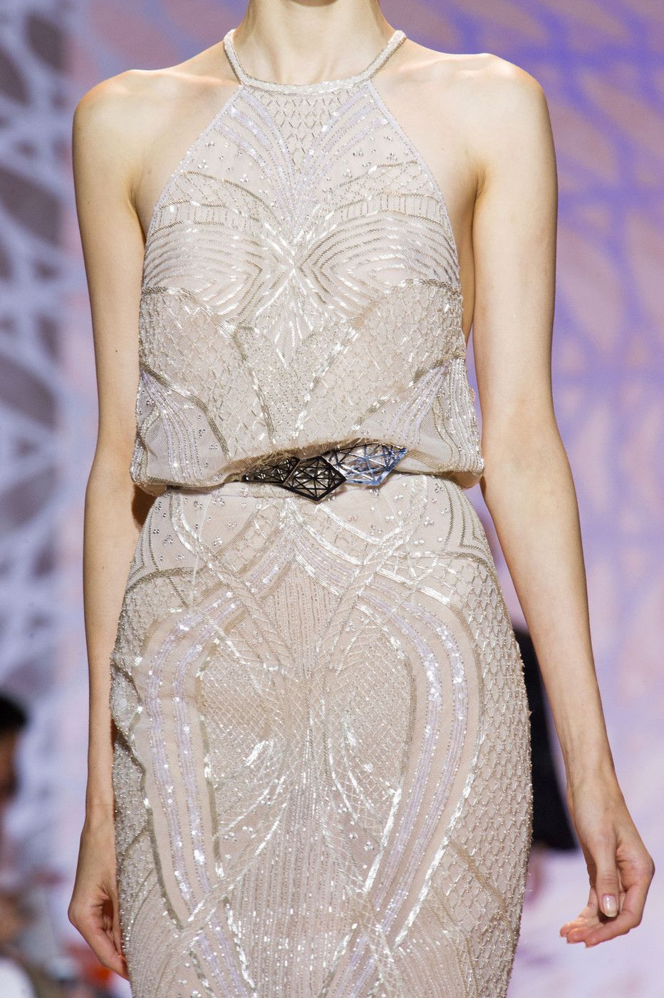 Zuhair Murad at Couture Fall 2014 (Details)