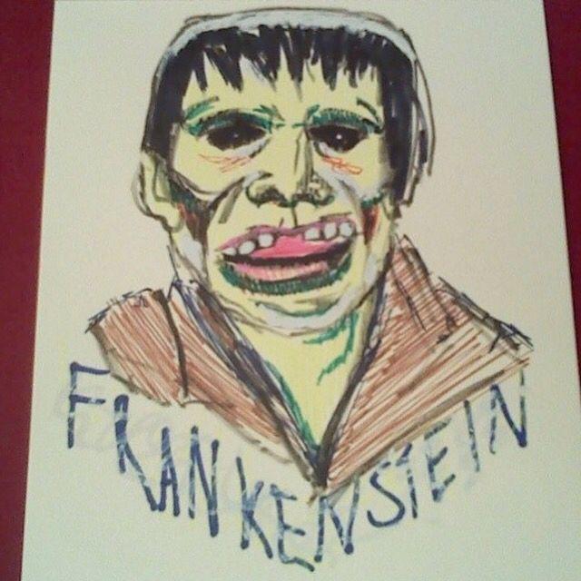 Frankenstein (Japanese) #frankensteinconquerstheworld #frankenstein #sketch