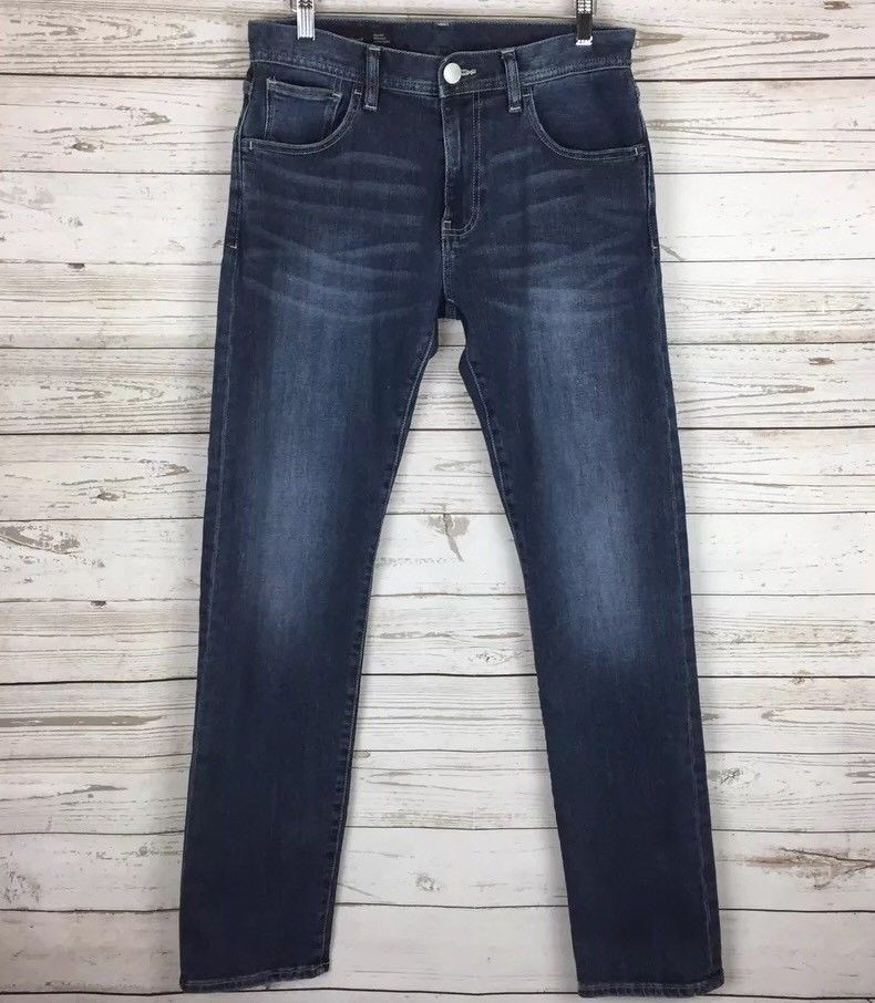 Armani exchange relaxed straight fit jeans mens 30 dark