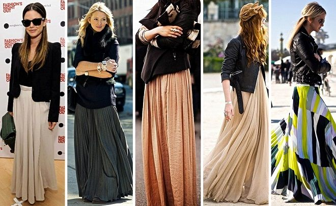 5f5fd6798f cómo combinar faldas largas (2)