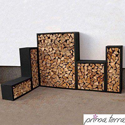 prima terra kaminholzregal kaminholzunterstand brennholzregal kaminholz aufbewahrung bausatz. Black Bedroom Furniture Sets. Home Design Ideas