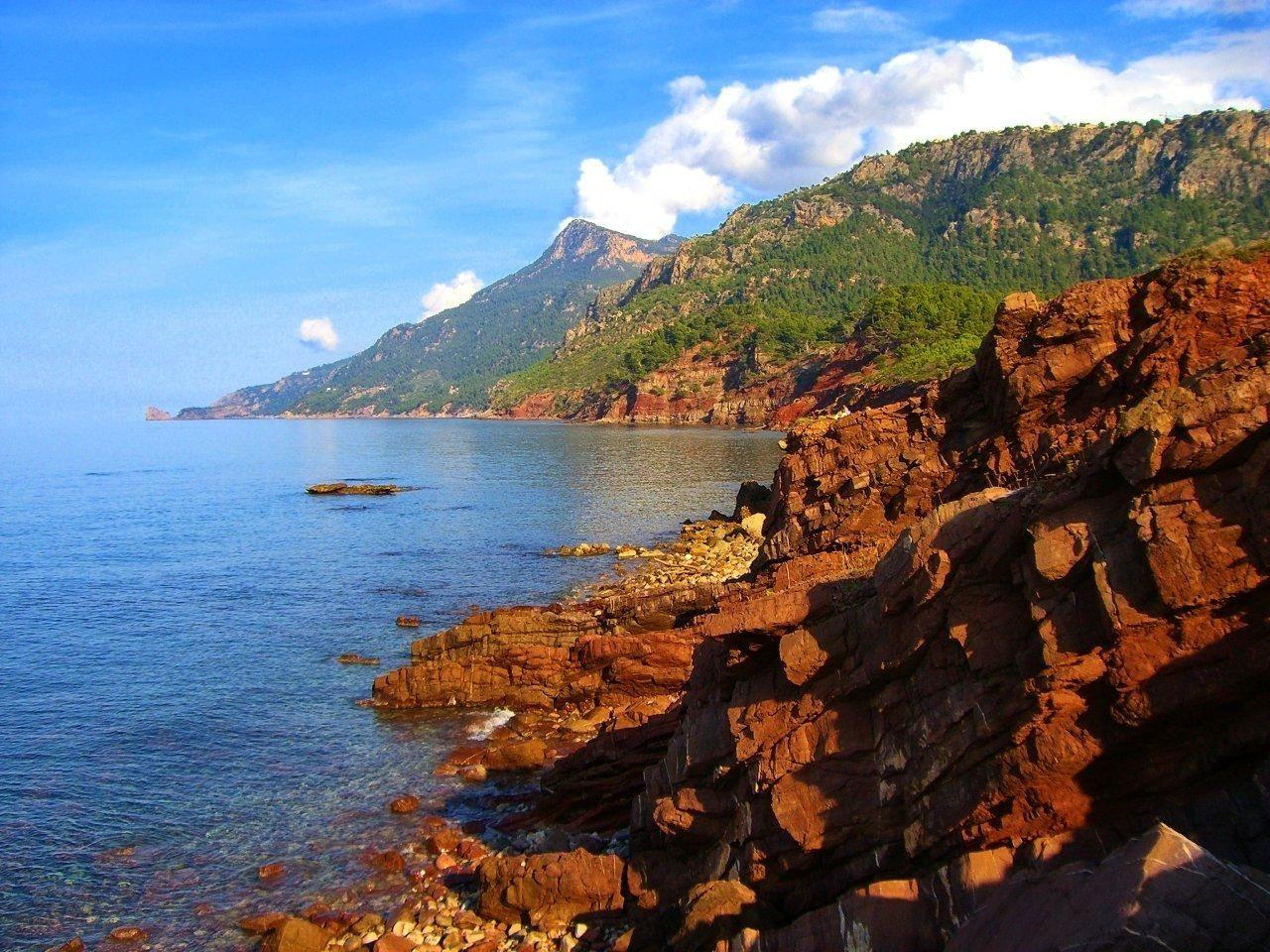 La costa norte de nuestra isla y su infinidad de colores.