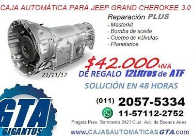 Ok Repuestos Caja Automatica Jeep Grand Cherokee 3 0 Crd Jeep