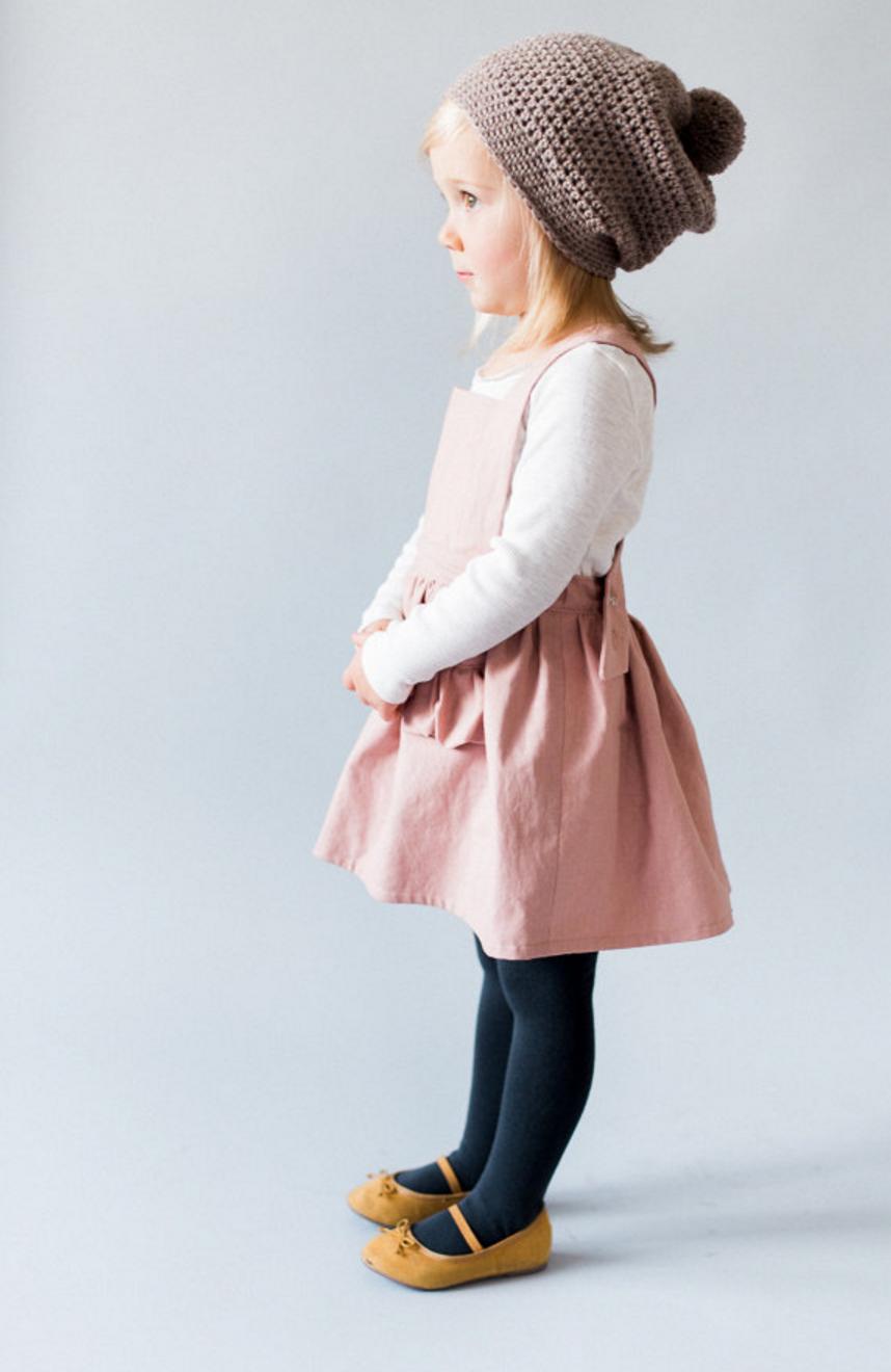 Linen Pinafore Dress blytheandreese on Etsy
