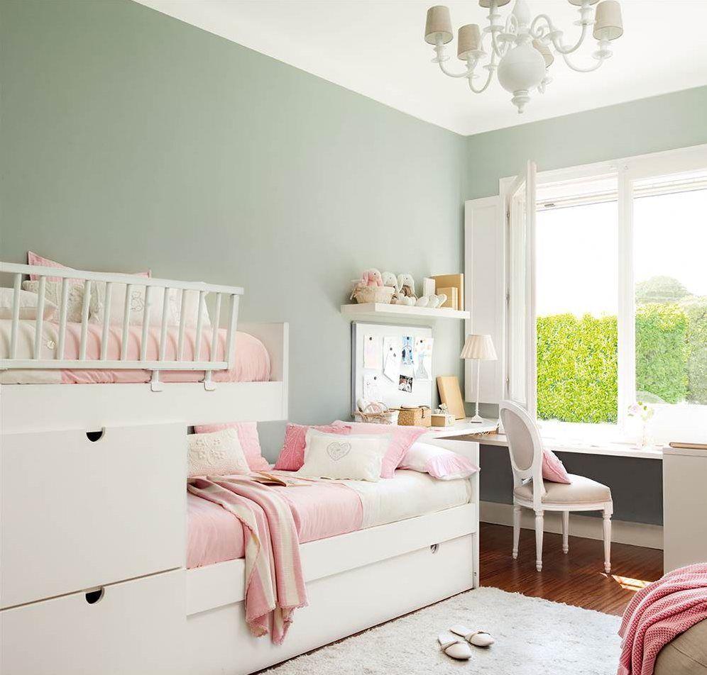 Fotos de cuartos infantiles bien ordenados paredes de - Paredes habitaciones infantiles ...