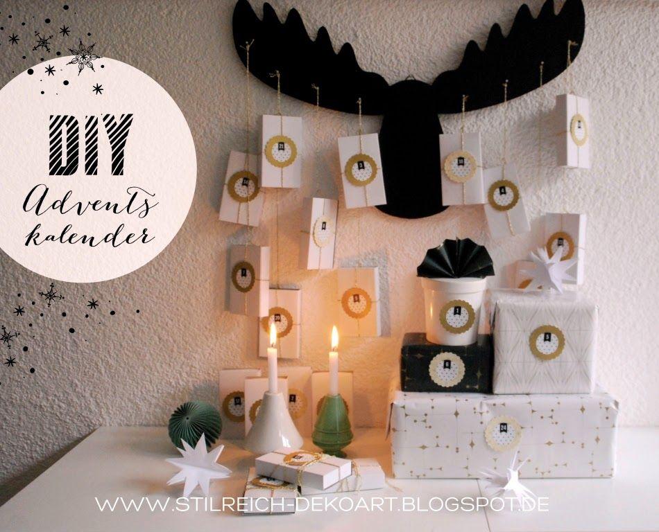 Weihnachtskalender Elch.Diy Adventskalender Für Die Kids Elch Am Haken Christmas