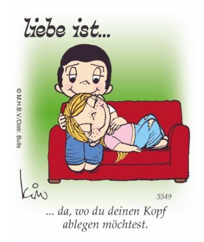"""""""Liebe ist…"""": Die legendären Cartoons jetzt auch bei BILD.de"""