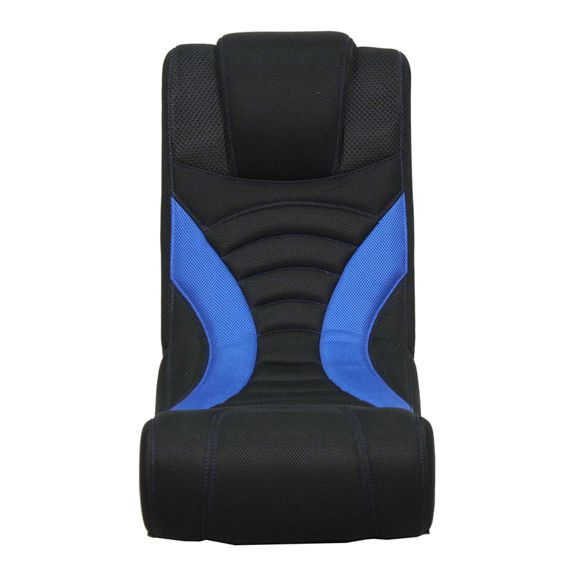 Fantastic Blue Curve Rocker Gaming Chair Front View With Express Alphanode Cool Chair Designs And Ideas Alphanodeonline