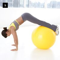Shrink your belly in 14 Days...ball exercises