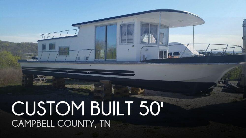 Used 1969 Custom 50 Foot Houseboat Lafollet Tn 37766