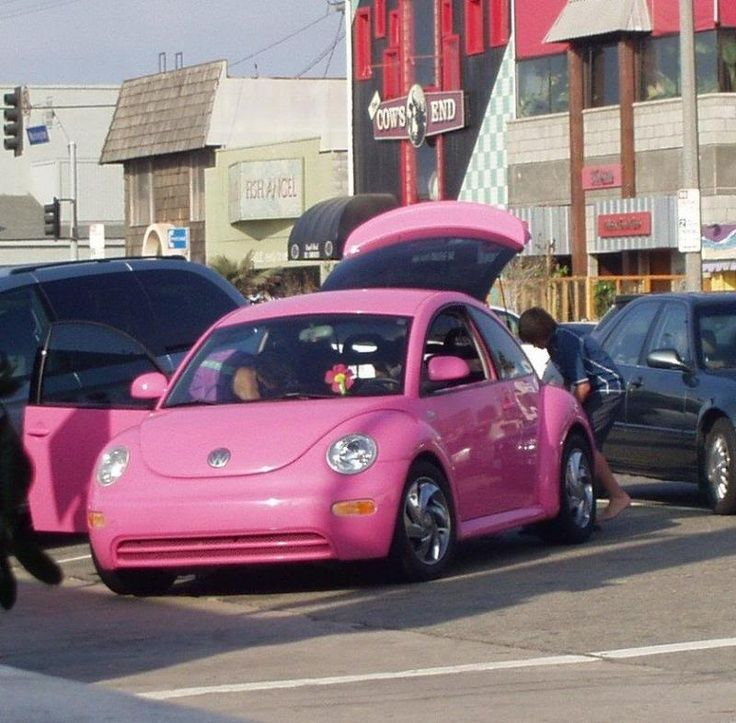 Pink Cars: Pink VW Beetle - Awesome Girly Cars & Girly Stuff!