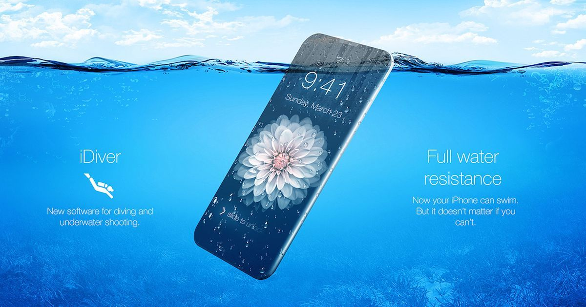 watch 23b5f 96355 Upcoming iPhone 8 With Higher Resistant To Water and Dust | Apple ...