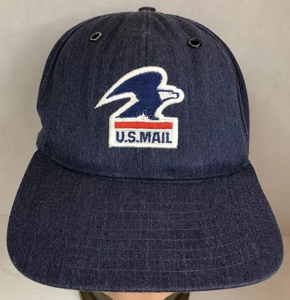 5dbae83839a0d VINTAGE US MAIL POSTAL SERVICE CAP POST OFFICE HAT DENIM SnapBack MEDIUM   fashion  clothing  shoes  accessories  mensaccessories  hats (ebay link)
